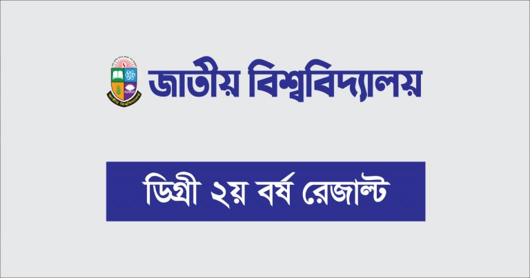 Degree 2nd Year Result 2020 of National University NU