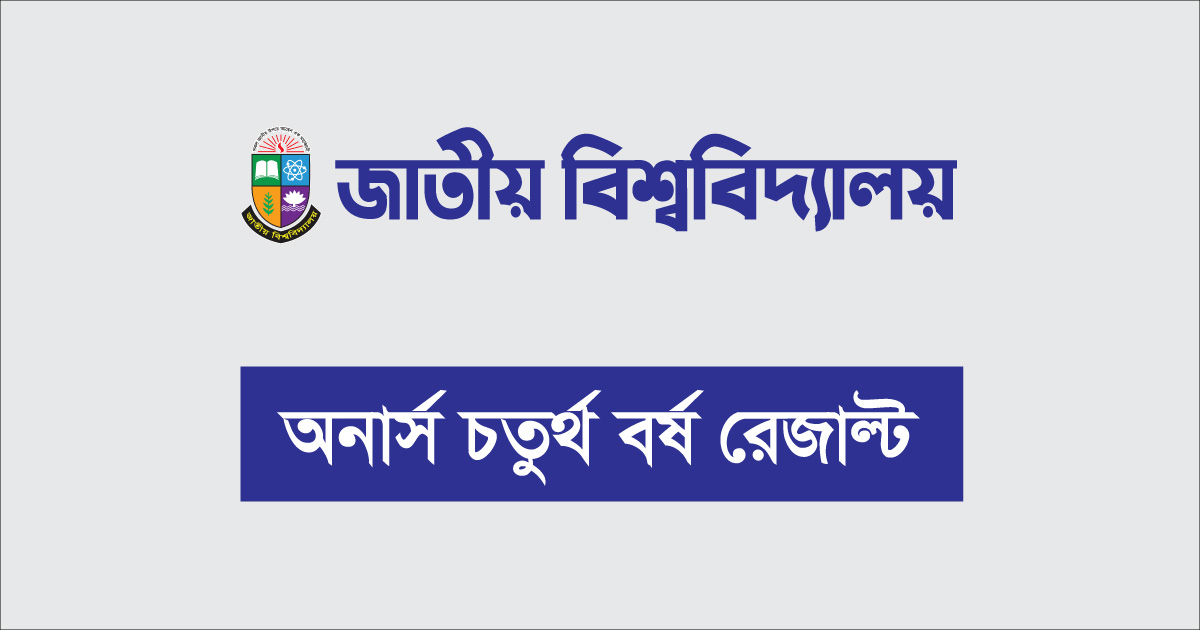 NU Honours 4th Year Result 2020