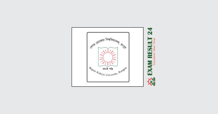 Begum Rokeya University Admission Circular 2020-2021