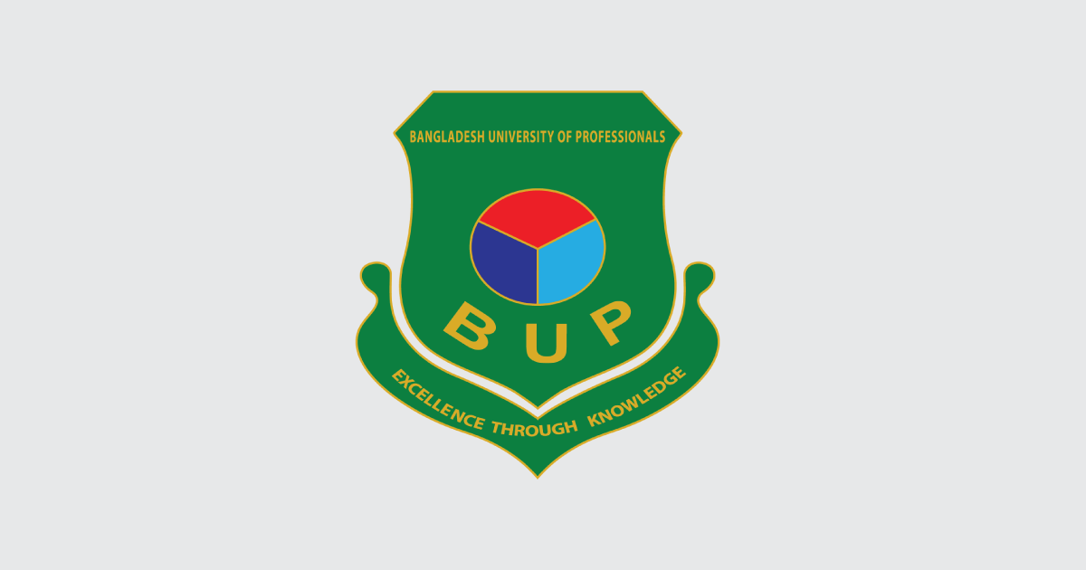 BUP Admission 2020-21